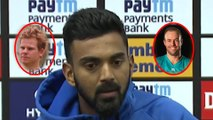 KL Rahul says he watches ABD's and Steve Smith's videos and learn | KL RAHUL | ABD | SMITH