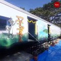 Mysuru government school gets classrooms made from train coaches