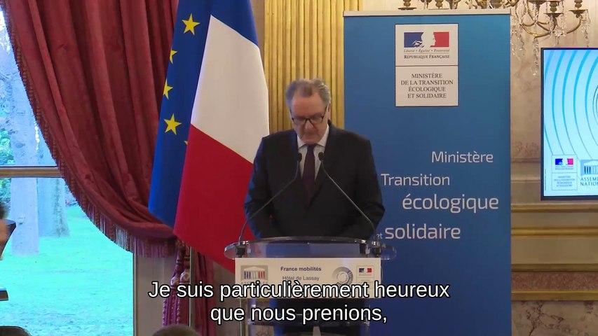 Ouverture de la présentation de la démarche France Mobilités - Jeudi 16 janvier 2020