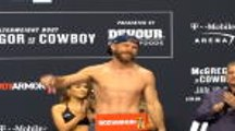 McGregor, Cerrone face-off in tense weigh-in