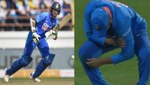 IND VS AUS 2nd ODI | Rohit Sharma and Dhawan injured, not fielded