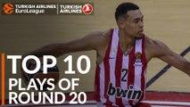 Turkish Airlines EuroLeague Regular Season Round 20 Top 10 Plays