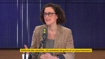 """Sortie perturbée d'Emmanuel Macron au théâtre : """"Il faut retrouver le respect normal de base [...] sinon c'est quoi, c'est l'insurrection ?"""", estime Emmanuelle Wargon, secrétaire d'État auprès de la ministre de la Transition écologique et solidaire"""