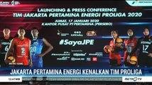 Jakarta Pertamina Energi Kenalkan Tim Proliga 2020