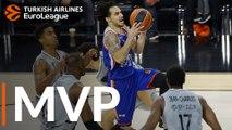 Turkish Airlines EuroLeague Regular Season Round 20 MVP: Shane Larkin, Anadolu Efes Istanbul