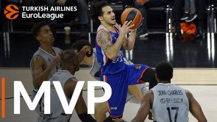 Round 20 MVP: Shane Larkin, Anadolu Efes Istanbul