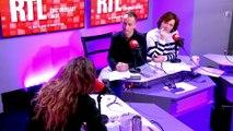 """Invitée sur RTL, la chanteuse Lorie explique qu'elle ne supporte plus la traque des paparazzi """"et qui lui arrive de les frapper"""" pour protester contre leur harcèlement"""
