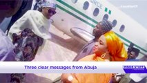 Buhari's daughter uses Presidential jet, Amotekun's ban and Imo politics on Inside Stuff