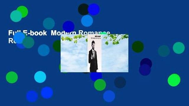 Full E-book  Modern Romance  Review
