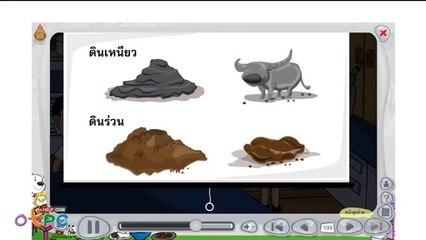 สื่อการเรียนการสอน ดินมีลักษณะอย่างไร 3 ป.1 วิทยาศาสตร์