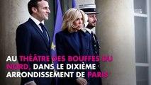 Emmanuel et Brigitte Macron évacués d'un théâtre parisien, la Toile se lâche