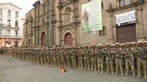 El Gobierno interino de Bolivia despliega 70.000 militares en las calles