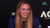 "Open d'Australie 2020 - Caroline Wozniacki plays the last tournament of his career : ""It's full of emotion"""