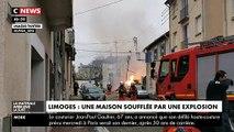 Fuite de gaz: Les images de cette énorme explosion qui a secoué le quartier Carnot-Marceau ce samedi matin à Limoges