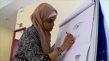 العلاج بالفن يساعد اللاجئين بإثيوبيا على تطوير مهاراتهم واستثمارها