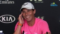 """Open d'Australie 2020 - Rafael Nadal n°1 in the world over three decades, does he have a secret ? : """"There is no secret at all"""""""
