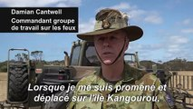 L'armée australienne vient en aide aux agriculteurs touchés par les incendies