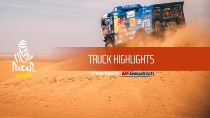 Dakar 2020 - Truck Highlights