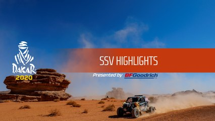 Dakar 2020 - SSV Highlights