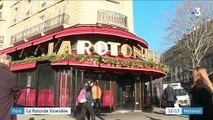 Paris : La Rotonde incendiée, l'hypothèse de l'acte volontaire est privilégiée