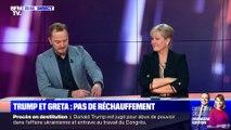 Donald Trump et Greta Thunberg : pas de rechauffement - 21/01