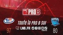 PRO B : Rouen vs Antibes (J15)