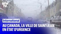 Canada: la ville de Saint-Jean en état d'urgence à cause des chutes de neige