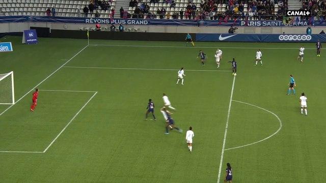 Sandy Baltimore inscrit le 10ème but du PSG - D1 Arkema