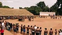 Brasilien: Tellerlippen gegen Umweltpolitik von Präsident Bolsonaro