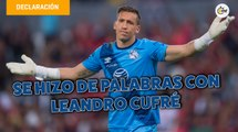 Leandro Cufré se hizo de palabras con Nicolás Vikonis | Entrevista