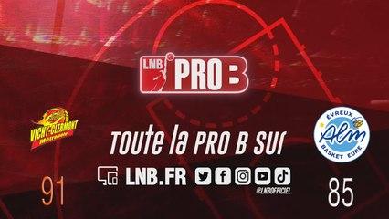 PRO B : Vichy-Clermont vs Evreux (J15)