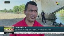Denuncia caravana de migrantes hondureños persecución