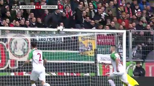 Augsburg – Borussia Dortmund (3-5) - Maç Özeti - Bundesliga 2019/20