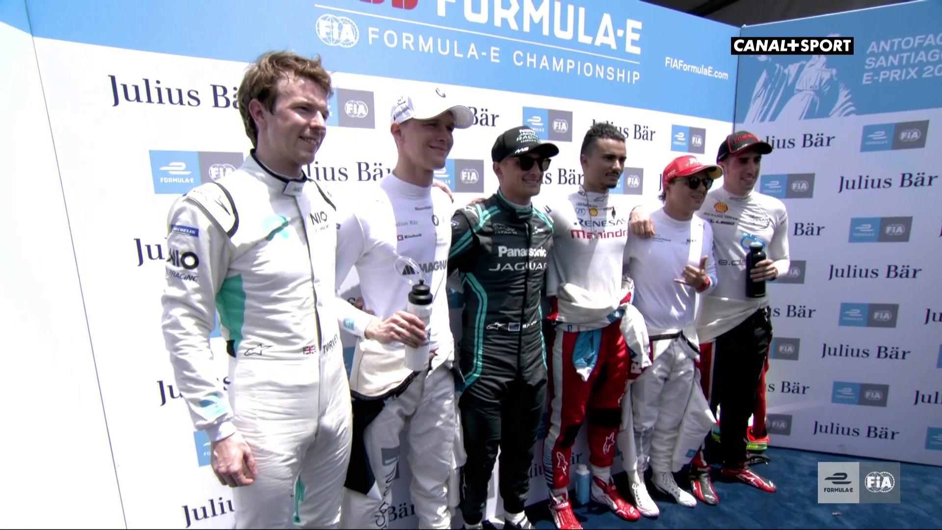 Formule E - La pôle pour Mitch Evans