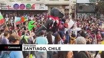 Prosegue la protesta antigovernativa in Cile