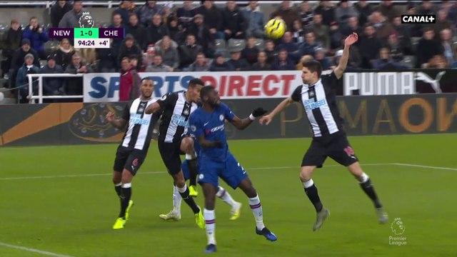 Le but du hold-up des Magpies de Newcastle face à Chelsea - Premier League