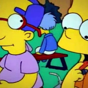 The Simpsons Season 3 Episode 23 Barts Friend Falls In Love