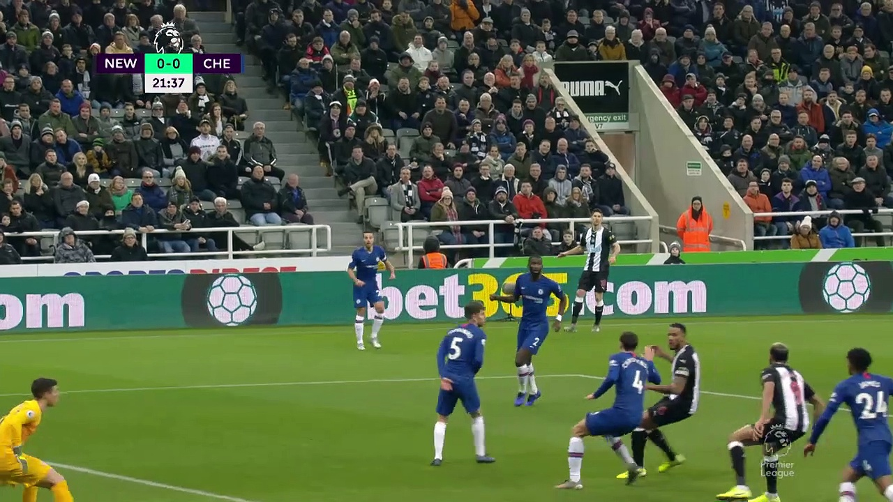Newcastle United - Chelsea (1-0) - Maç Özeti - Premier League 2019/20