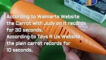 Disney Zootopia Judy's Carrot Recorder Pen and Badge Toys