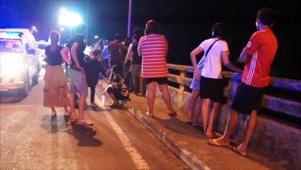 นักศึกษาสาวประเภทสอง กระโดดสะพานจมน้ำดับสลด