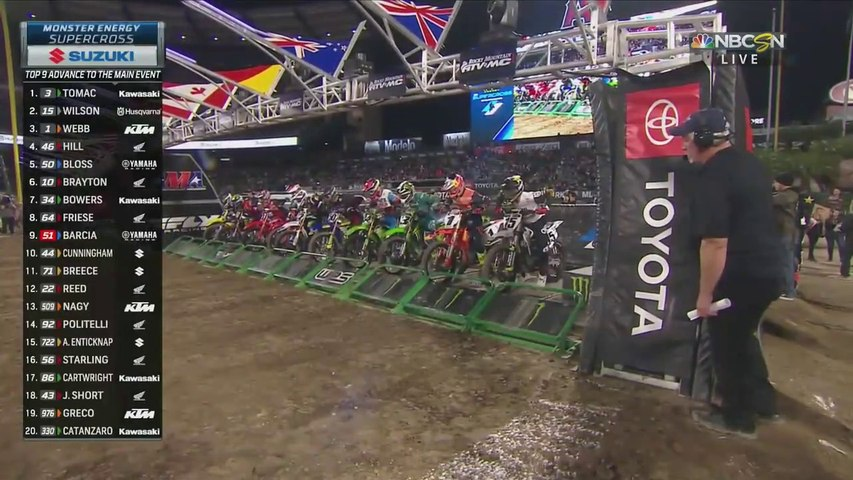2020 Supercross Anaheim 2 450 Heat 1