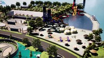 Resort Garden Landscape Design and Water Park Design Architect in India, United states and United Kingdom