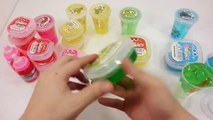 How To Make Pudding Jelly Slime Colors Clay Toys