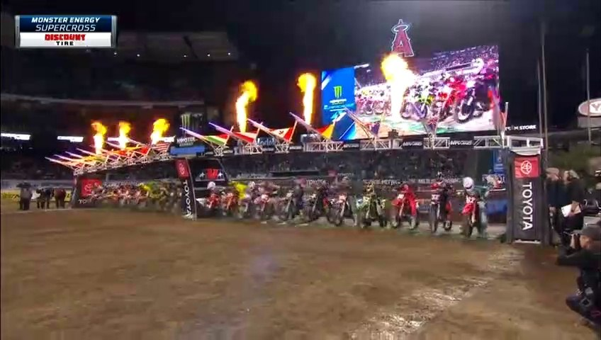 Round-3 AMA Supercross 2020 Anaheim 2- 250SX Main Event