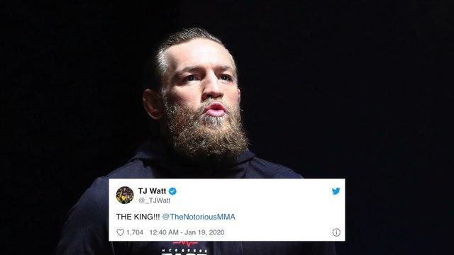Nate Diaz, LeBron James React To Conor McGregor's Historic Win