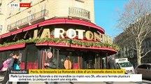 Incendie de la Brasserie La Rotonde à Paris : Où en est l'enquête ce matin et les enquêteurs ont-ils établi un lien avec Emmanuel Macron ?