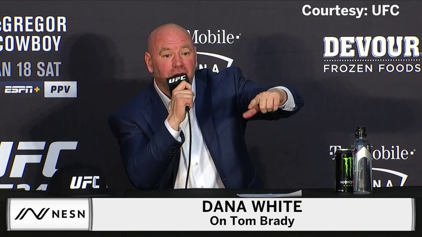 Dana White On Raiders' Mark Davis, Tom Brady Attending UFC 246