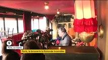 Paris : la brasserie La Rotonde en partie incendiée, l'acte volontaire privilégié