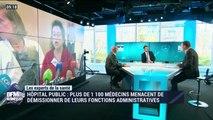Hôpital public: Plus de 1 100 médecins menacent de démissionner de leurs fonctions administratives - 19/01