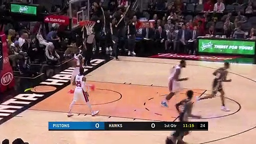 Detroit Pistons 136 - 103 Atlanta Hawks